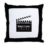 Life is a movie, Direct it well - Throw Pillow