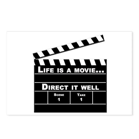 life is a movie - Postcards (Package of 8)