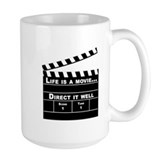 Life is movie, Direct it well - Mug