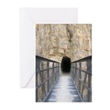 Grand Canyon Bridge Tunnel Greeting Cards (6)