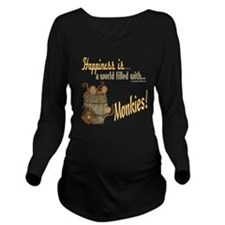 HappinessMonkies copy.png Long Sleeve Maternity T-
