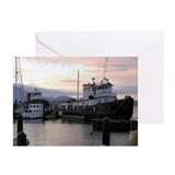 Sunset Marina Greeting Cards (Pk of 10)