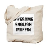 Awesome English Muffin Tote Bag