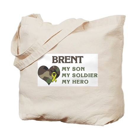 Brent: My Hero Tote Bag