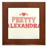 Alexandra Framed Tile