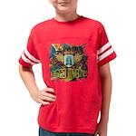 Rose Cross Green T-Shirt