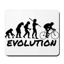 Bicycle Evolution Mousepad