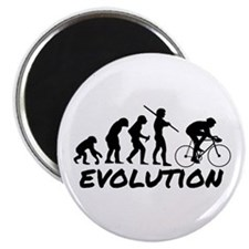 Bicycle Evolution Magnet