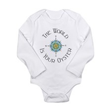 The World Is Your Oyster Body Suit