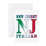 New Jersey Italian Greeting Cards (Pk of 10)
