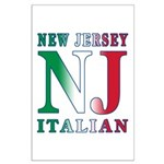 New Jersey Italian Large Poster
