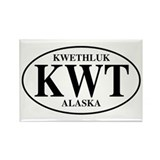 Kwethluk Rectangle Magnet