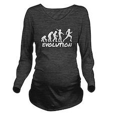 Runner Evolution Long Sleeve Maternity T-Shirt