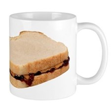 Peanut Butter and Jelly Sandwich Mugs