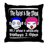 Razor and Die Throw Pillow