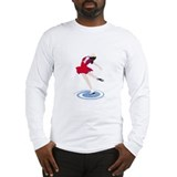 Cute Figure skating Long Sleeve T-Shirt