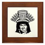 American Indian Framed Tile