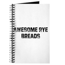 Awesome Rye Breads Journal