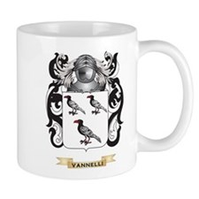 Vannelli Family Crest (Coat of Arms) Mugs