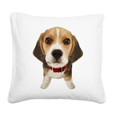 Beagle004 Square Canvas Pillow