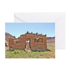 Pahreah Cabin Front Greeting Cards (Pk of 10)