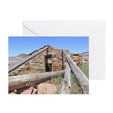 Pahreah Cabin Side View Greeting Cards (Pk of 10)