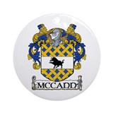 McCann Coat of Arms Ornament (Round)