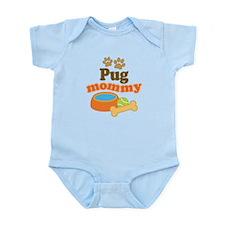 Pug Mom Infant Bodysuit