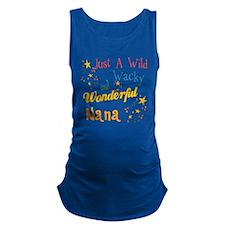 2-wildandwacky2nana.png Maternity Tank Top