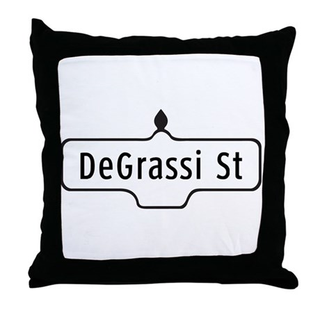 DeGrassi St., Toronto - Canada Throw Pillow