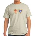 Zionist Crusader Ash Grey T-Shirt
