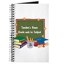 Custom Teacher Journal