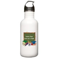 Custom Teacher Water Bottle