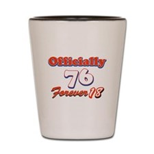 Officially 76 designs Shot Glass