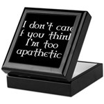 Apathetic Keepsake Box
