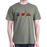 Peace, Love, Respect T-Shirt