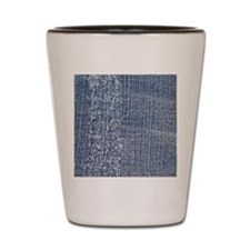 Worn-out Denim Jeans Shot Glass