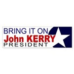 Bring it on: Kerry Sticker