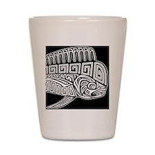 Polynesian Mahi Shot Glass