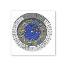 "Astronomical watch 001 Square Sticker 3"" x 3"""