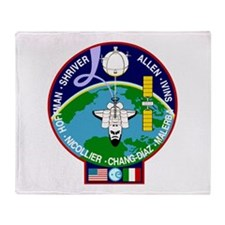 STS-46 Atlantis Throw Blanket