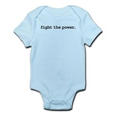 fightthepowerblk.png Infant Bodysuit