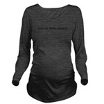 typicalwhitepersondwblk.png Long Sleeve Maternity