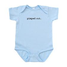 pimpedoutblk.png Infant Bodysuit