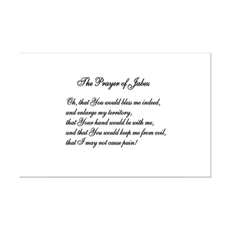 The Prayer of Jabez Mini Poster Print