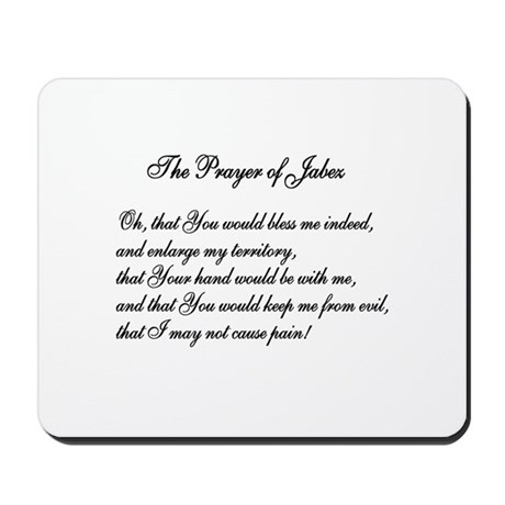 The Prayer of Jabez Mousepad