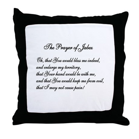 The Prayer of Jabez Throw Pillow