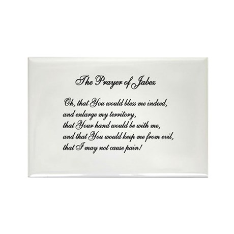The Prayer of Jabez Rectangle Magnet