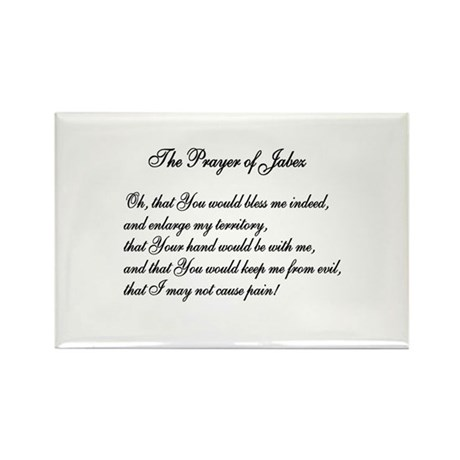 The Prayer of Jabez Rectangle Magnet (100 pack)