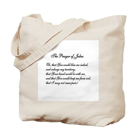 The Prayer of Jabez Tote Bag